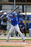 Toronto Blue Jays Alexis Maldonado (18) during a minor league spring training game against the New York Yankees on March 24, 2015 at the Englebert Complex in Dunedin, Florida.  (Mike Janes/Four Seam Images)