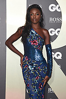 LONDON, UK. September 03, 2019: Leomie Anderson arriving for the GQ Men of the Year Awards 2019 in association with Hugo Boss at the Tate Modern, London.<br /> Picture: Steve Vas/Featureflash