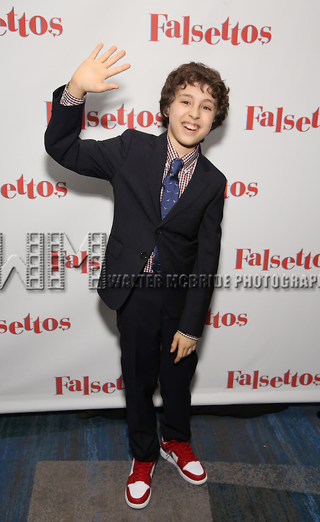 Anthony Rosenthal attends the Opening Night After Party for 'Falsettos'  at the New York Hilton Hotel on October 27, 2016 in New York City.