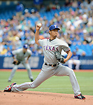 Yu Darvish (Rangers),<br /> JUNE 8, 2013 - MLB :<br /> Yu Darvish of the Texas Rangers pitches during the Major League Baseball game against the Toronto Blue Jays at Rogers Centre in Toronto, Ontario, Canada. (Photo by AFLO)