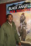 Lamman Rucker (Tyler Perry's Why Did I Get Married, Marshall Travers on As The World Turns stars as Elijah Sams in Layon Gray's Black Angels Over Tuskegee - The Story of the Tuskegee Airman on February 7, 2010 and continuing. Check it out at www.theblackgents.com (Photo by Sue Coflin/Max Photos)