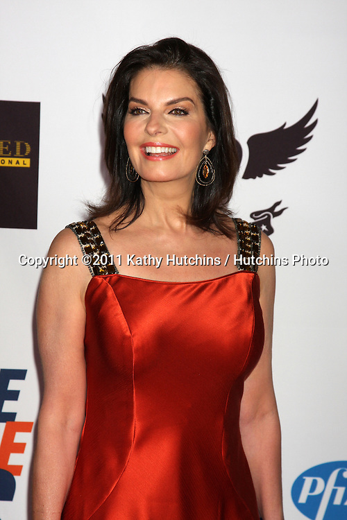 LOS ANGELES - APR 29:  Sela Ward arriving at the 18th Race to Erase MS Event at Century Plaza Hotel on April 29, 2011 in Century City, CA..