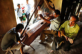 BELIZE, Punta Gorda, Toledo District, a group of musicians play in the Maya village of San Jose, Morning Star Group