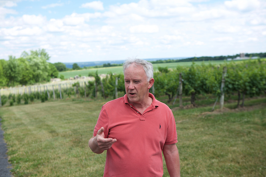 Romulus, NY - June 21, 2016: The New York Wine and Grape Foundation bring New York City sommeliers and wine buyers to the Finger Lakes region as part of its NY Drinks NY program.<br /> <br /> CREDIT: Clay Williams.<br /> <br /> &copy; Clay Williams / claywilliamsphoto.com