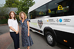 City Hospice - Hodge Foundation minibus donation.<br /> Liz Andrews from City Hospice with Karen Hodge from the Hodge Foundation.<br /> 16.07.19<br /> ©Steve Pope<br /> Fotowales