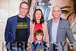 Vincent O'Keeffe, Emer and Lian Conway and Gerard Kennedy Portmagee at  the Premiere of the Star Wars The Force Awakens in Killarney Cinema on Thursday