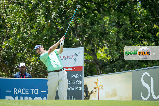 Ernie Els (RSA) during the 2nd round of the AfrAsia Bank Mauritius Open, Four Seasons Golf Club Mauritius at Anahita, Beau Champ, Mauritius. 30/11/2018<br /> Picture: Golffile | Mark Sampson<br /> <br /> <br /> All photo usage must carry mandatory copyright credit (&copy; Golffile | Mark Sampson)