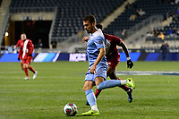 Chester, PA - Friday December 08, 2017: Alex Comsia The Indiana Hoosiers defeated the North Carolina Tar Heels 1-0 during an NCAA Men's College Cup semifinal soccer match at Talen Energy Stadium.