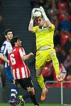 BILBAO. ESPA&Ntilde;A. FUTBOL.<br /> Partido de la Liga BBVA entre Athletic Club y Espanyol; a 16-02-14. <br /> En la imagen :<br /> 13Kiko Casilla (Espanyol Barcelona)<br /> <br /> PPHOTOCALL3000 / RME