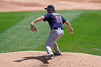 25th July 2020, Chicago, IL, USA;  Minnesota Twins starting pitcher Randy Dobnak (68) throws a pitch in the first inning against the Chicago White Sox  at Guaranteed Rate Field on July 25, 2020 in Chicago, IL.