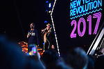 MIAMI, FL - DECEMBER 31: PITBULL'S NEW YEAR'S REVOLUTION: Hosted by Queen Latifah and Snoop Dogg. PITBULL'S NEW YEAR'S REVOLUTION returns to FOX on Saturday, Dec. 31, live from Miami, FL, 11:00 PM-12:30 AM ET (CT/MT/PT tape-delayed) for the countdown to 2017. At Bayfront Park on Saturday December 31, 2016 in Miami, Florida. Pictured: Queen Latifah (R) and Snoop Dogg Photo by Johnny Louis/FOX. © 2017 Fox Broadcasting Co.
