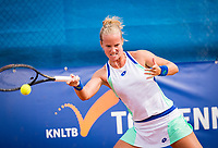 Amstelveen, Netherlands, 1 August 2020, NTC, National Tennis Center, National Tennis Championships,  Womans Final : Richel Hogenkamp (NED)<br /> Photo: Henk Koster/tennisimages.com