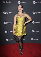 07 February 2019 - Westwood, California - Jorja Smith. Spotify &quot;Best New Artist 2019&quot; Event held at Hammer Museum. <br /> CAP/ADM/PMA<br /> &copy;PMA/ADM/Capital Pictures