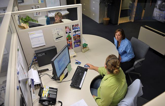 HR Call Center..Photo by Matt Cashore/University of Notre Dame