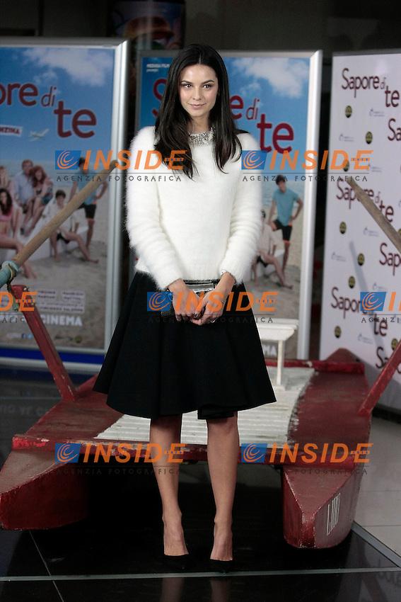 Katy Saunders<br /> Roma 08-01-2014 Cinema Adriano, Sapore di Te - Photocall<br /> Photo Samantha Zucchi Insidefoto