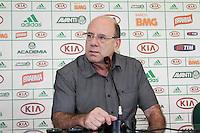 SÃO PAULO, 28 DE MARÇO 2013 - TREINO PALMEIRAS  -José Carlos Brunoro, Diretor Executivo, durante coletiva à imprensa na tarde desta quinta-feira(28) na Academia de Futebol, zona oeste da capital - FOTO: LOLA OLIVEIRA/BRAZIL PHOTO PRESS