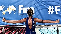 Izabella Chiappini Riscaldamento. Warm up <br /> Trieste 15/01/2019 Centro Federale B. Bianchi <br /> Women's FINA Europa Cup 2019 water polo<br /> Italy ITA - Nederland NED <br /> Foto Andrea Staccioli/Deepbluemedia/Insidefoto  <br /> Photo edited with Photoshop Filters or Plugin