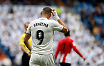 Real Madrid CF's Karim Benzema during La Liga match. April 21, 2019. (ALTERPHOTOS/Manu R.B.)