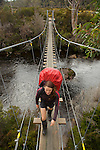 Narcissus bridge nearby Lake saint Clair at the end of the Overland track
