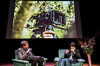 The Netherlands, Amsterdam, 21 November 2017. The 30th International Documentary Film Festival Amsterdam - IDFA 2017. IDFA Industry Talk: Master Class Ed Lachman, co-hosted bij Arri Academy. From left; moderator Henning Rädlein, cinematographer dop Ed Lachman. Photo: 31pictures.nl / (c) 2017, www.31pictures.nl