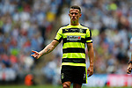 Jonathan Hogg of Huddersfield Town reacts during the SkyBet Championship Play Off Final match at the Wembley Stadium, England. Picture date: May 29th, 2017.Picture credit should read: Matt McNulty/Sportimage