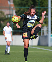 20190921 – LEUVEN, BELGIUM : E. Aalst's Laurence Marchal pictured during a women soccer game between  Oud Heverlee Leuven Ladies B and Eendracht Aalst Ladies on the fourth matchday of the Belgian Division 1 season 2019-2020, the Belgian women's football  national division 1, Saturday 21th September 2019 at the Bruinveld Youth Complex, Domeinstraat in Leuven , Belgium. PHOTO SPORTPIX.BE | SEVIL OKTEM