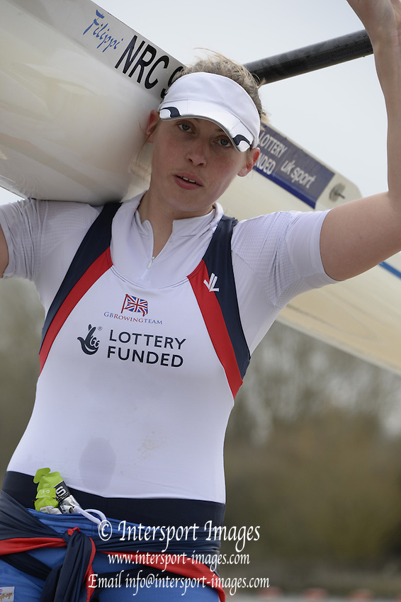 Reading, UNITED KINGDOM. GBR Media Day, Redgrave and Pinsent Rowing Lake. GB Rowing Training Base, Caversham, Berks. Wednesday   19/03/2014 [Mandatory Credit: Peter Spurrier/Intersport Images]