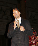 Florian Koenigsberger explains digital donating - Hearts of Gold All That Glitters Ball celebrating 23 years of support to New York City's homeless mothers and their children on November 1, 2017 at Capitale, New York City, New York.  (Photo by Sue Coflin/Max Photo)