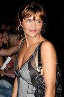 HELENA CHRISTENSEN 2003 <br /> MERCEDES-BENZ FASHION WEEK-<br /> MARC JACOBS 2004 SPRING COLLECTION.<br /> NEW YORK CITY.<br /> Photo By John Barrett/PHOTOlink/MediaPunch