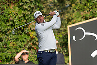 Lee Westwood (ENG) in action on the 2nd holeduring the third round of the 76 Open D'Italia, Olgiata Golf Club, Rome, Rome, Italy. 12/10/19.<br /> Picture Stefano Di Maria / Golffile.ie<br /> <br /> All photo usage must carry mandatory copyright credit (© Golffile | Stefano Di Maria)