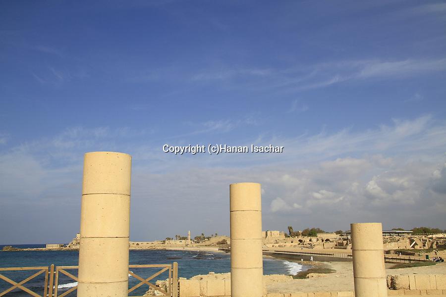 Israel, Sharon region, the Reef Palace in Caesarea