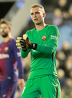 FC Barcelona's Jasper Cillessen during Spanish Kings Cup match. January 4,2018. (ALTERPHOTOS/Acero)