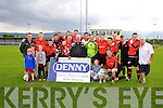 Tralee Dynamos win the Premier B league final at Mounthawk Park on Sunday