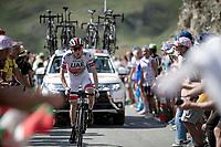 Daniel Martin (IRE/UAE-Emirates) up the Tourmalet (HC/2115m/19km @7.4%)<br /> <br /> Stage 14: Tarbes to Tourmalet(117km)<br /> 106th Tour de France 2019 (2.UWT)<br /> <br /> ©kramon
