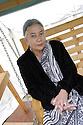 Anita Desai Indian Author  of The Zig Zag Way. CREDIT Geraint Lewis