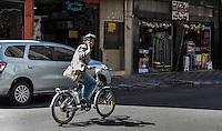 SAO PAULO, SP, 21 AGOSTO 2012 - ELEICOES SP - SONINHA FRANCINE - SP - A Candidata a prefeitura de Sao Paulo, Soninha Francine (PPS) durante entrevista a radio CBN na manha dessa terca-feira na regiao central da capital paulista. FOTO: VANESSA CARVALHO - BRAZIL PHOTO PRESS