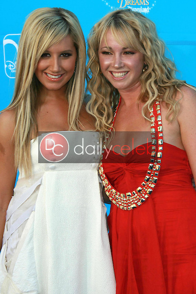 Ashley Tisdale and Jennifer Tisdale<br />