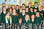 The Green Flag Committee of Gaelscoil Lios Tuathail on Tuesday, who celebrated their An Taisce Green Flag last Tuesday.   Copyright Kerry's Eye 2008