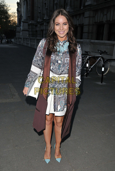 LONDON, ENGLAND - APRIL 20: Louise Thompson attends the Oasis and Victoria &amp; Albert Museum collection launch party, V &amp; A Museum, Cromwell Rd., on Monday April 20, 2015 in London, England, UK. <br /> CAP/CAN<br /> &copy;CAN/Capital Pictures