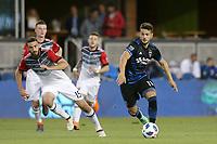 San Jose, CA - Saturday May 19, 2018: Vako during a Major League Soccer (MLS) match between the San Jose Earthquakes and D.C. United at Avaya Stadium.