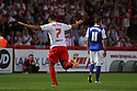Filipe Morais of Stevenage celebrates after scoring their first goal<br />  Stevenage v Ipswich Town - Capital One Cup First Round - Lamex Stadium, Stevenage - 6th August, 2013<br />  © Kevin Coleman 2013