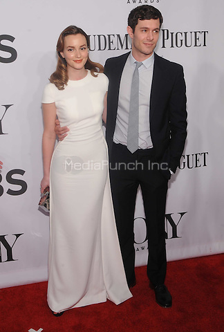 New York, NY- June 8: Leighton Meester and Adam Brody attend the American Theater Wing's 68th Annual Tony Awards on June 8, 2014 at Radio City Music Hall in New York City. (C)  Credit: John Palmer/MediaPunch