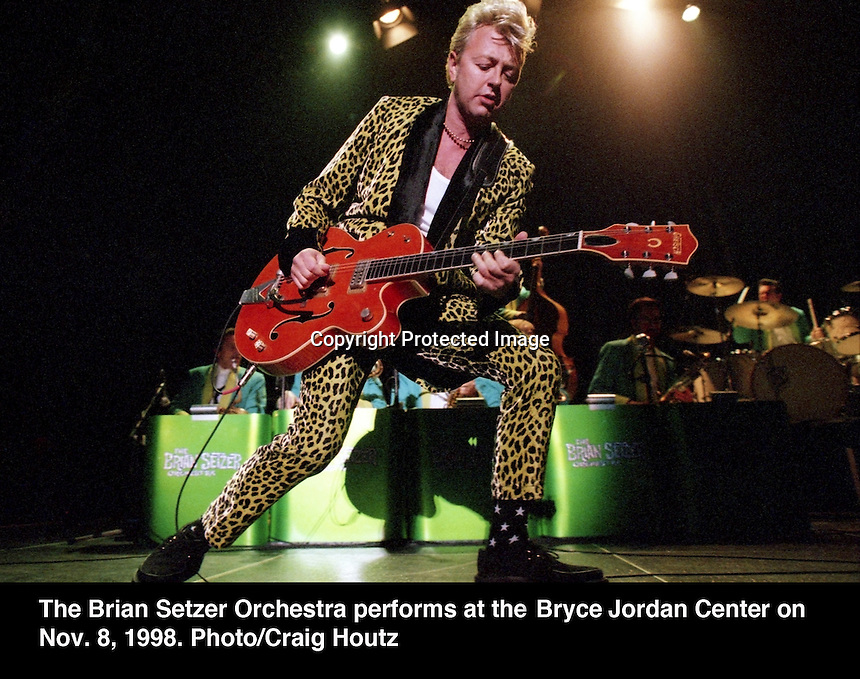 Brian Setzer Orchestra. Photo/Craig Houtz