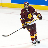 Joe Basaraba (Duluth - 18) - The Boston College Eagles defeated the University of Minnesota Duluth Bulldogs 4-0 to win the NCAA Northeast Regional on Sunday, March 25, 2012, at the DCU Center in Worcester, Massachusetts.