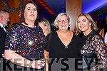 Aoife O'Reilly, Sheila Casey and Breda O'Sullivan  at the IHF ball in the Aghadoe Hotel on Friday night