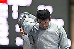 Kenta Tokunan (JPN), AUGUST 7, 2013 - Fencing : World Fencing Championships Budapest 2013, Men's Individual Sabre at Syma Hall in Budapest, Hungary. (Photo by Enrico Calderoni/AFLO SPORT) [0391]