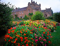 Cawdor Castle Scotland, United Kingdom  Castle of Macbeth newar Inverness Six hundred year old castle  September Afternoon