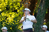 Ian Poulter (ENG) in action on the 16th hole during the second round of the 76 Open D'Italia, Olgiata Golf Club, Rome, Rome, Italy. 11/10/19.<br /> Picture Stefano Di Maria / Golffile.ie<br /> <br /> All photo usage must carry mandatory copyright credit (© Golffile | Stefano Di Maria)
