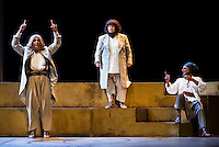 "Pastora Vega, Maria Galiana and Lolita during theater play ""La Asamblea de las Mujeres"" at Teatro La Latina in Madrid. August 23 2016. (ALTERPHOTOS/Borja B.Hojas) /NORTEPHOTO.COM"