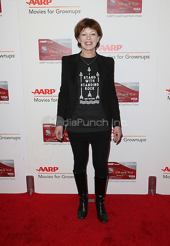 Beverly Hills, CA - FEBRUARY 06: Frances Fisher, At 16th Annual AARP The Magazine's Movies For Grownups Awards, At The Beverly Wilshire Four Seasons Hotel In California on February 06, 2017. Credit: Faye Sadou/MediaPunch